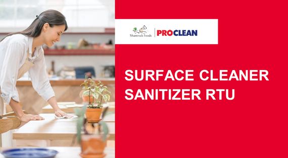 ProClean Surface Cleaner Sanitizer RTU Program Overview