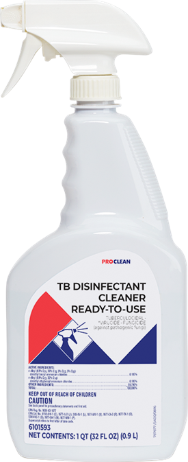 TB Disinfectant Cleaner Ready to Use ProClean